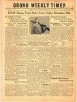 Orono Weekly Times, 25 Nov 1943