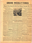 Orono Weekly Times, 2 Dec 1943