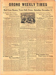 Orono Weekly Times, 9 Dec 1943