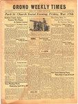 Orono Weekly Times, 16 Mar 1944