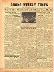 Orono Weekly Times, 4 May 1944