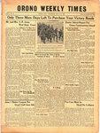 Orono Weekly Times, 11 May 1944