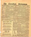 Canadian Statesman (Bowmanville, ON), 11 Jan 1923