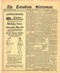 Canadian Statesman (Bowmanville, ON), 15 Mar 1923