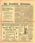 Canadian Statesman (Bowmanville, ON), 17 May 1923