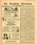 Canadian Statesman (Bowmanville, ON), 6 Dec 1923