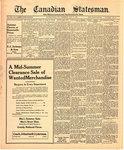 Canadian Statesman (Bowmanville, ON), 31 Jul 1924