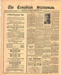 Canadian Statesman (Bowmanville, ON), 22 Jan 1925