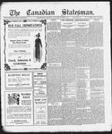 Canadian Statesman (Bowmanville, ON), 9 Oct 1913