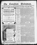 Canadian Statesman (Bowmanville, ON), 11 Dec 1913