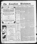 Canadian Statesman (Bowmanville, ON), 25 Dec 1913