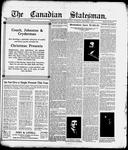 Canadian Statesman (Bowmanville, ON), 9 Dec 1915