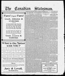 Canadian Statesman (Bowmanville, ON), 30 Nov 1916