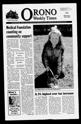 Orono Weekly Times, 14 Apr 2004