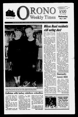 Orono Weekly Times, 7 May 2003