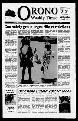 Orono Weekly Times, 9 Jul 2003