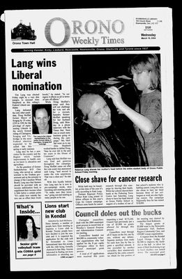 Orono Weekly Times, 10 Mar 2004