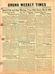 Orono Weekly Times, 21 Mar 1946