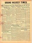 Orono Weekly Times, 23 May 1946