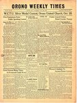 Orono Weekly Times, 24 Oct 1946