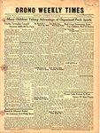 Orono Weekly Times, 15 Jul 1948