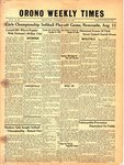 Orono Weekly Times, 5 Aug 1948