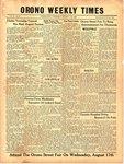 Orono Weekly Times, 11 Aug 1949
