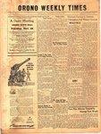 Orono Weekly Times, 24 Nov 1949