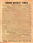 Orono Weekly Times, 29 Dec 1949