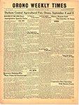 Orono Weekly Times, 7 Sep 1950