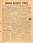 Orono Weekly Times, 23 Nov 1950