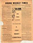 Orono Weekly Times, 21 Dec 1950