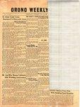 Orono Weekly Times, 11 Jan 1951