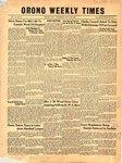 Orono Weekly Times, 3 May 1951