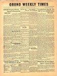 Orono Weekly Times, 2 Aug 1951