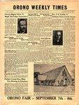 Orono Weekly Times, 6 Sep 1951