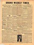 Orono Weekly Times, 8 Nov 1951
