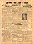 Orono Weekly Times, 29 Nov 1951