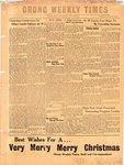 Orono Weekly Times, 20 Dec 1951