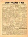 Orono Weekly Times, 5 Nov 1953