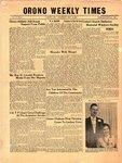Orono Weekly Times, 12 Nov 1953