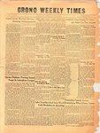Orono Weekly Times, 26 Nov 1953