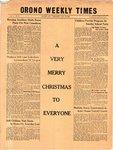 Orono Weekly Times, 24 Dec 1953