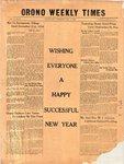 Orono Weekly Times, 31 Dec 1953