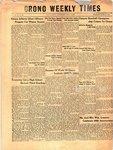 Orono Weekly Times, 4 Nov 1954
