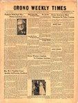 Orono Weekly Times, 25 Nov 1954