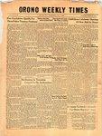 Orono Weekly Times, 2 Dec 1954