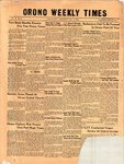 Orono Weekly Times, 16 Dec 1954