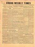 Orono Weekly Times, 17 Jan 1957