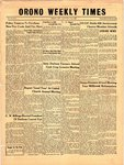 Orono Weekly Times, 31 Jan 1957